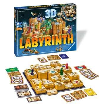 3D Labyrinth Spil;Familiespil - Billede 2 - Ravensburger