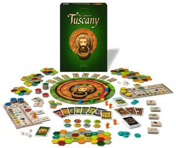 The Castles of Tuscany Games;Strategy Games - image 3 - Ravensburger