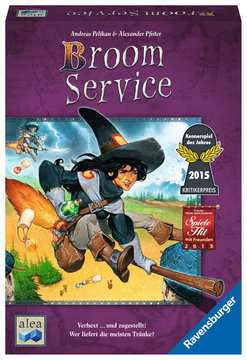Broom Service Spiele;Familienspiele - Bild 1 - Ravensburger