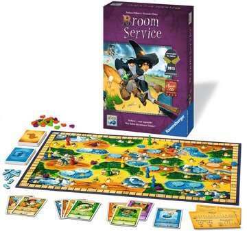 Broom Service Spiele;Familienspiele - Bild 3 - Ravensburger