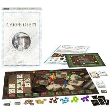 Ravensburger 26926 Carpe Diem, Versione Italiana, Strategy Game, 2-4 Giocatori, Età Consigliata 10+ Giochi;Giochi di società - immagine 3 - Ravensburger