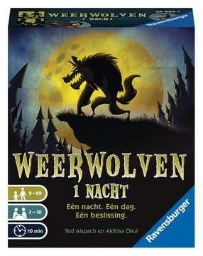 Weerwolven 1 nacht Spellen;Spellen voor het gezin - image 1 - Ravensburger