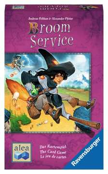 Broom Service - The Card Game Games;Strategy Games - image 1 - Ravensburger