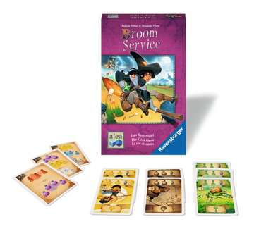 Broom Service - The Card Game Games;Strategy Games - image 2 - Ravensburger