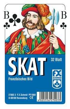 Klassisches Skatspiel, Französisches Bild, 32 Karten in Klarsicht-Box Spiele;Kartenspiele - Bild 1 - Ravensburger