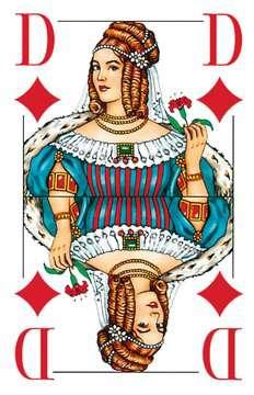 27005 Kartenspiele Klassisches Skatspiel, Französisches Bild mit großen Eckzeichen, 32 Karten in Klarsicht-Box von Ravensburger 2