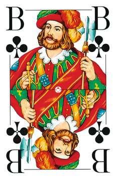 27005 Kartenspiele Klassisches Skatspiel, Französisches Bild mit großen Eckzeichen, 32 Karten in Klarsicht-Box von Ravensburger 3