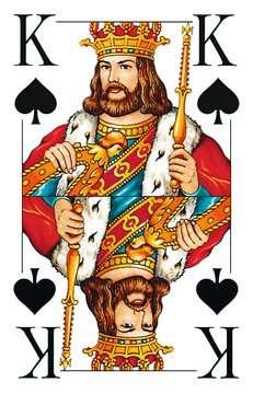 27005 Kartenspiele Klassisches Skatspiel, Französisches Bild mit großen Eckzeichen, 32 Karten in Klarsicht-Box von Ravensburger 4