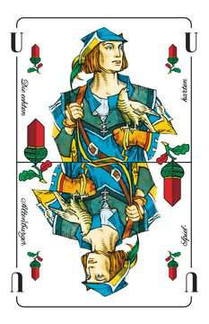 27012 Kartenspiele Skat, Deutsches Bild, 32 Karten in Klarsicht-Box von Ravensburger 2
