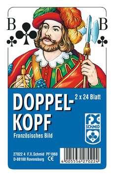 27022 Kartenspiele Doppelkopf, Französisches Bild, in Klarsicht-Box von Ravensburger 1