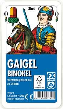 27062 Kartenspiele Gaigel/Binockel in Klarsicht-Box von Ravensburger 1