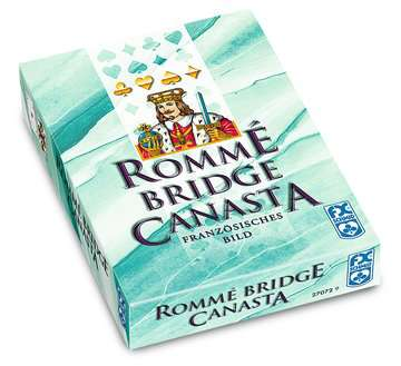 27072 Kartenspiele Rommé, Canasta, Bridge von Ravensburger 1
