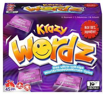 27241 Erwachsenenspiele Krazy Wordz Erwachsenen-Edition von Ravensburger 1