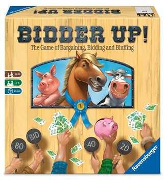 BIDDER UP! Games;Family Games - image 1 - Ravensburger