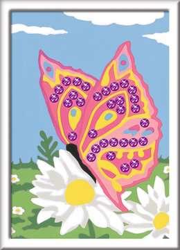 Numéro d art - petit - Papillon et sequins Loisirs créatifs;Peinture - Numéro d'Art - Image 2 - Ravensburger