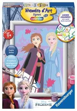 Numéro d art - petit - Disney La Reine des Neiges 2, Elsa et Anna Loisirs créatifs;Peinture - Numéro d'Art - Image 1 - Ravensburger