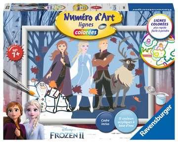 Numéro d art - moyen - Disney La Reine des Neiges 2, Anna et ses amis Loisirs créatifs;Peinture - Numéro d'Art - Image 1 - Ravensburger