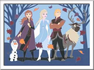 Numéro d art - moyen - Disney La Reine des Neiges 2, Anna et ses amis Loisirs créatifs;Peinture - Numéro d'Art - Image 2 - Ravensburger