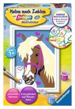 27693 Malen nach Zahlen Liebes Pferd von Ravensburger 1