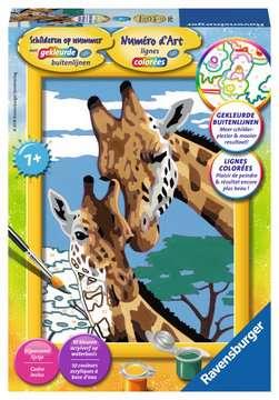 Giraffen Hobby;Schilderen op nummer - image 1 - Ravensburger