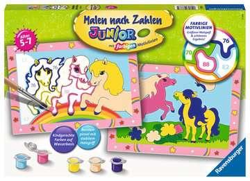 Süße Ponys Malen und Basteln;Malen nach Zahlen - Bild 1 - Ravensburger