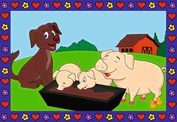 27779 Malen nach Zahlen Liebe Bauernhoftiere von Ravensburger 2