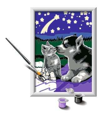 27847 Malen nach Zahlen Hund und Katze von Ravensburger 3