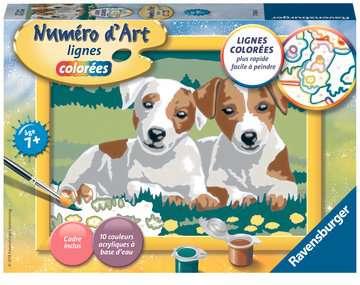 Numéro d art - petit - Amis mignons Loisirs créatifs;Peinture - Numéro d'Art - Image 1 - Ravensburger