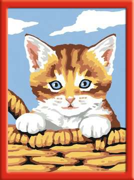 Kat in mand Hobby;Schilderen op nummer - image 2 - Ravensburger
