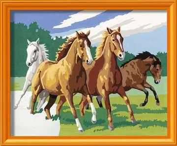 Wilde paarden / Chevaux sauvages Loisirs créatifs;Peinture - Numéro d art - Image 2 - Ravensburger