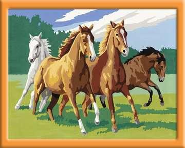 Wilde paarden / Chevaux sauvages Loisirs créatifs;Peinture - Numéro d art - Image 3 - Ravensburger