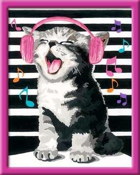 28431 Malen nach Zahlen Singing Cat von Ravensburger 2