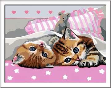 Adorables chatons Loisirs créatifs;Peinture - Numéro d art - Image 2 - Ravensburger