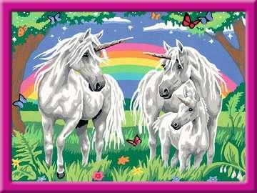 Le monde fabuleux des licornes Loisirs créatifs;Peinture - Numéro d art - Image 2 - Ravensburger