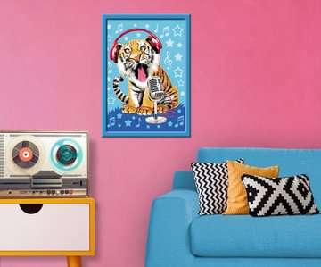 Zingende tijger Hobby;Schilderen op nummer - image 3 - Ravensburger
