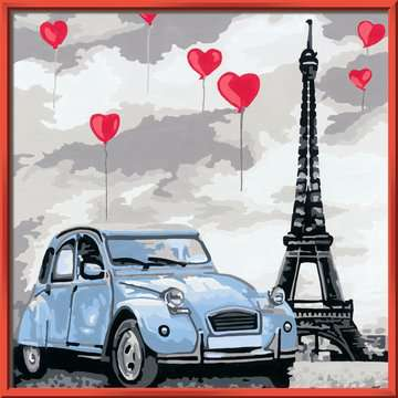 Parijs Hobby;Schilderen op nummer - image 2 - Ravensburger