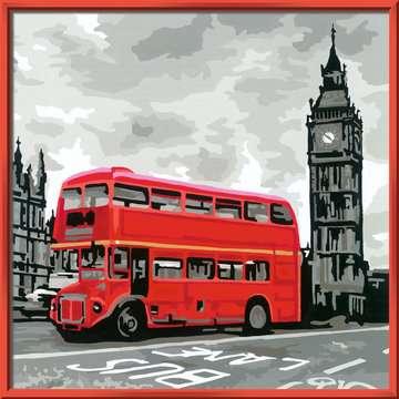 Londres Loisirs créatifs;Peinture - Numéro d art - Image 2 - Ravensburger