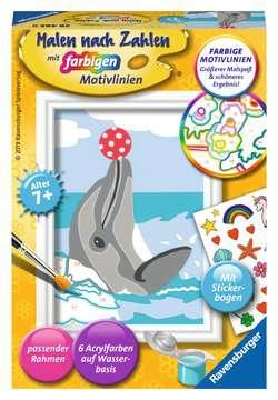 28465 Malen nach Zahlen Delfin von Ravensburger 1