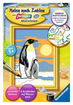 28466 Malen nach Zahlen Süße Pinguine von Ravensburger 1