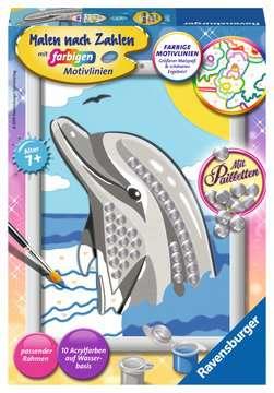 28472 Malen nach Zahlen Delfin von Ravensburger 1