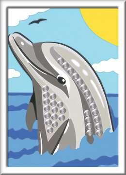 28472 Malen nach Zahlen Delfin von Ravensburger 2