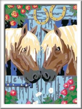 28478 Malen nach Zahlen Treue Pferde von Ravensburger 2