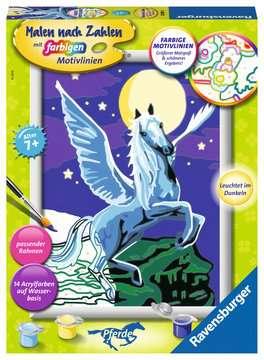 28489 Malen nach Zahlen Pegasus im Mondschein von Ravensburger 1