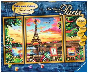28495 Malen nach Zahlen Im Herzen von Paris von Ravensburger 1
