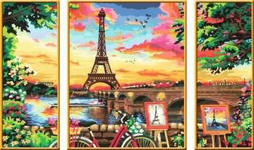 28495 Malen nach Zahlen Im Herzen von Paris von Ravensburger 2