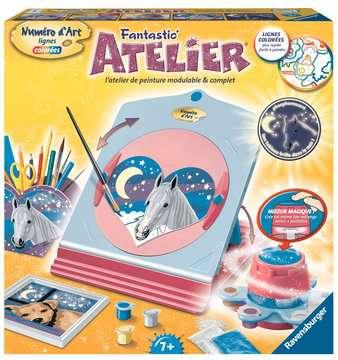 Fantastic  Atelier Numéro d Art Loisirs créatifs;Peinture - Numéro d'Art - Image 1 - Ravensburger