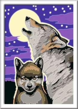28513 Malen nach Zahlen Mystische Wölfe von Ravensburger 2