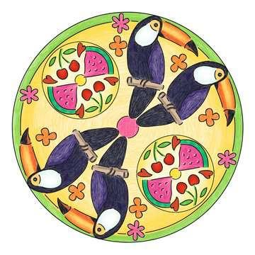 Mandala  - midi - Flamingo Loisirs créatifs;Dessin - Image 5 - Ravensburger
