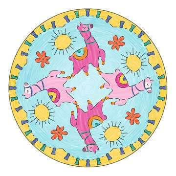 Mandala  - midi - Lama Loisirs créatifs;Dessin - Image 2 - Ravensburger