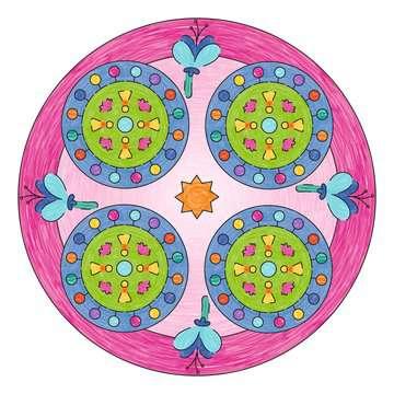 Mandala  - midi - Lama Loisirs créatifs;Dessin - Image 3 - Ravensburger